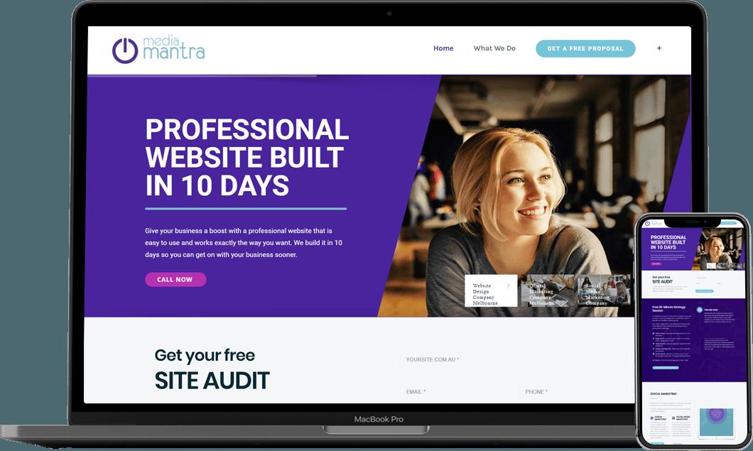 Fast Website Design Company Melbourne